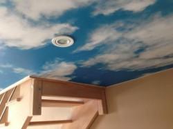 Plafond-toile-imprime-nuage-spot